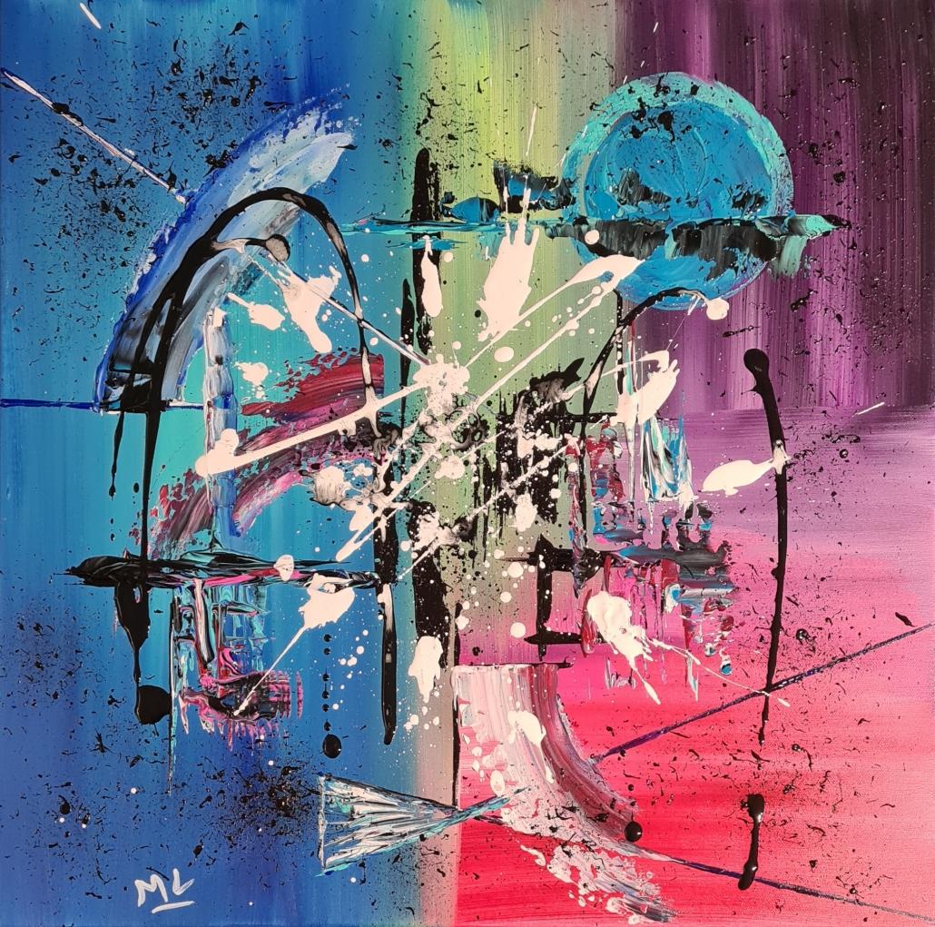 Art abstrait Peinture acrylique